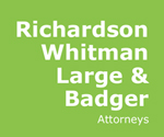 Richardson, Whitman, Large & Badger – Attorneys Logo
